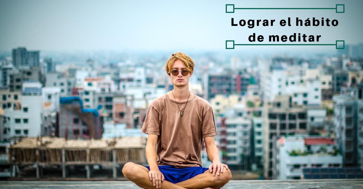 hábito de meditar